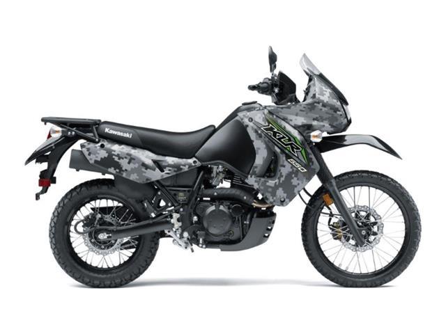 New 2018 Kawasaki KLR™650 Camo   - SASKATOON - FFUN Motorsports Saskatoon