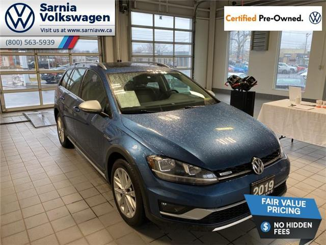 2019 Volkswagen Golf Alltrack 1.8 TSI Highline (Stk: VU1088) in Sarnia - Image 1 of 22