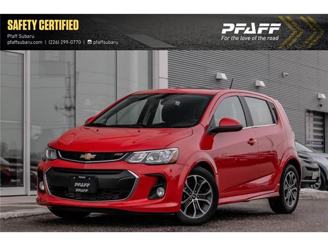 2017 Chevrolet Sonic LT Auto (Stk: S01001A) in Guelph - Image 1 of 20