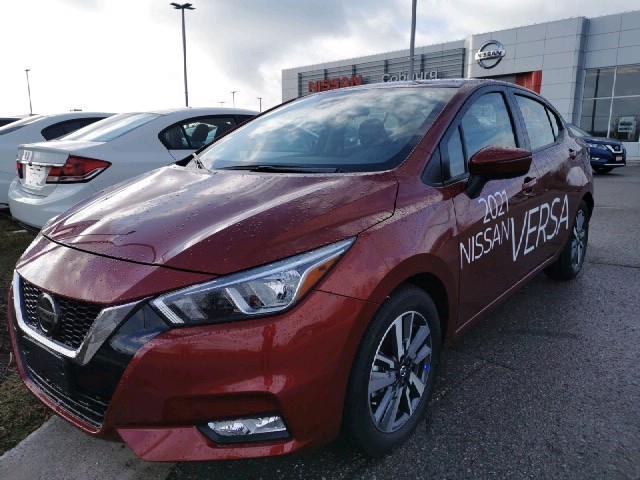 2021 Nissan Versa SV (Stk: CML832571) in Cobourg - Image 1 of 4