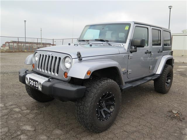2013 Jeep Wrangler Unlimited Sahara (Stk: 96484) in St. Thomas - Image 1 of 20