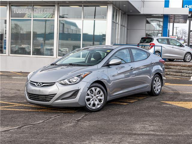 2015 Hyundai Elantra GL (Stk: 210158A) in Ottawa - Image 1 of 13