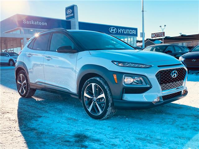 2021 Hyundai Kona 1.6T Trend w/Two-Tone Roof (Stk: 50157) in Saskatoon - Image 1 of 11