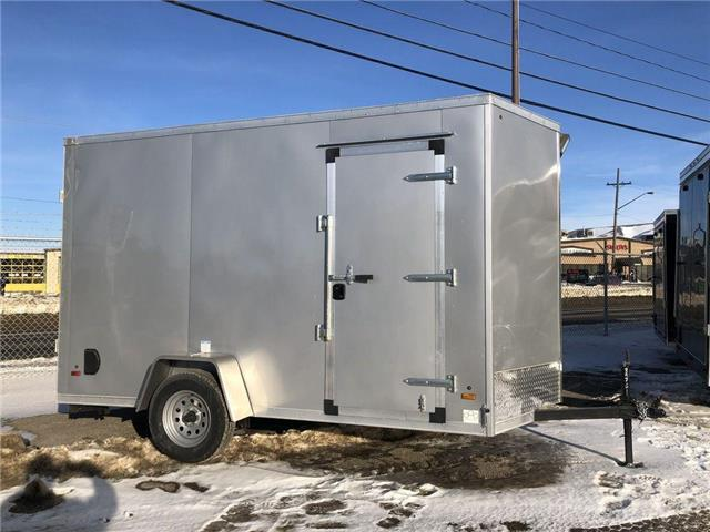 2021 Forest River 6 X 12 Enclosed Cargo/Utility Trailer  (Stk: 37617) in SASKATOON - Image 1 of 8