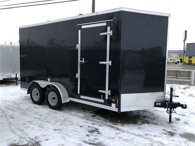 2021 Forest River 7x14 (plus 2 ft V-nose trailer)  (Stk: 37619) in SASKATOON - Image 1 of 5