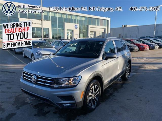 2021 Volkswagen Tiguan Comfortline (Stk: 21107) in Calgary - Image 1 of 30