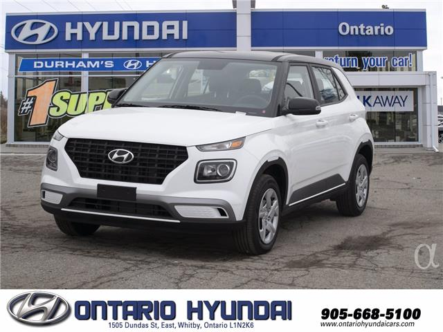 2021 Hyundai Venue Essential w/Two-Tone (Stk: 076550) in Whitby - Image 1 of 17