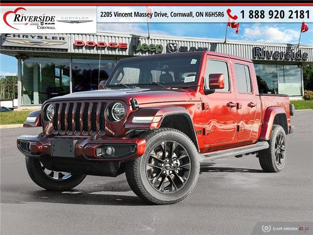 2021 Jeep Gladiator Overland (Stk: N21027) in Cornwall - Image 1 of 27