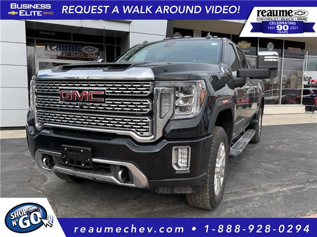 2021 GMC Sierra 2500HD Denali (Stk: 21-0273) in LaSalle - Image 1 of 6