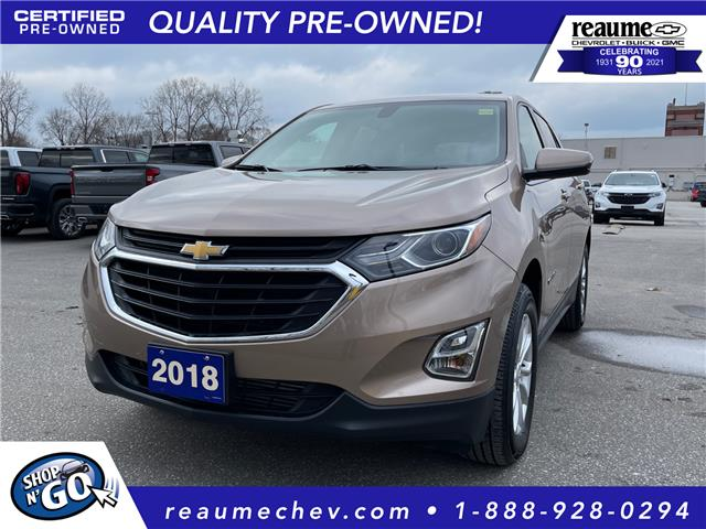 2018 Chevrolet Equinox 1LT 2GNAXSEV1J6179682 L-4467 in LaSalle