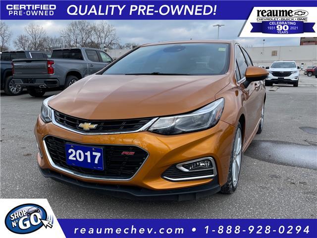 2017 Chevrolet Cruze Hatch Premier Auto 3G1BF6SM9HS540440 L-4466 in LaSalle