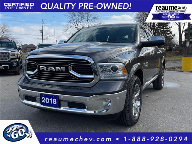 2018 RAM 1500 Longhorn 1C6RR7PT9JS220658 P-4461 in LaSalle