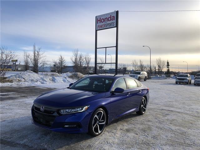 2020 Honda Accord Sport 1.5T (Stk: 20-069) in Grande Prairie - Image 1 of 28