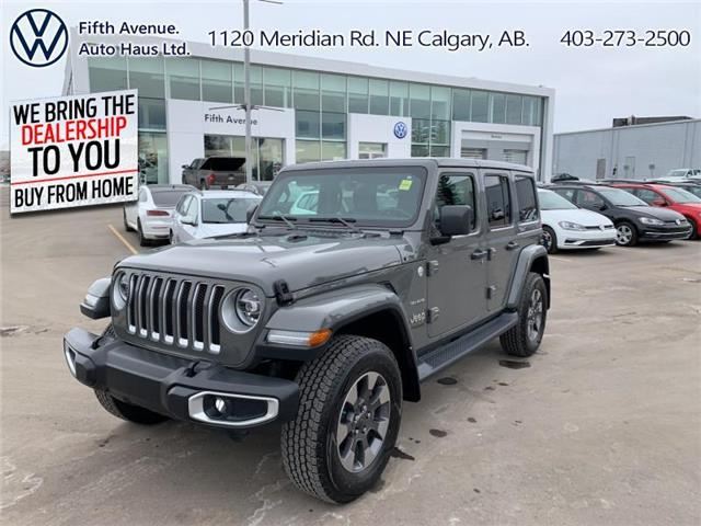 2020 Jeep Wrangler Unlimited Sahara (Stk: 21097A) in Calgary - Image 1 of 28