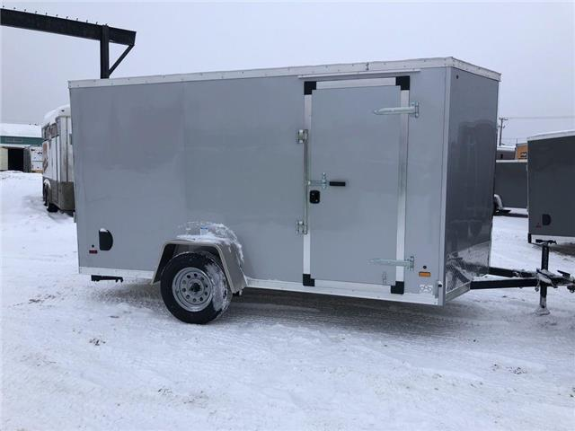 2021 Forest River 6x12 (V-nose CargoUtility Trailer)  (Stk: 37544) in SASKATOON - Image 1 of 6