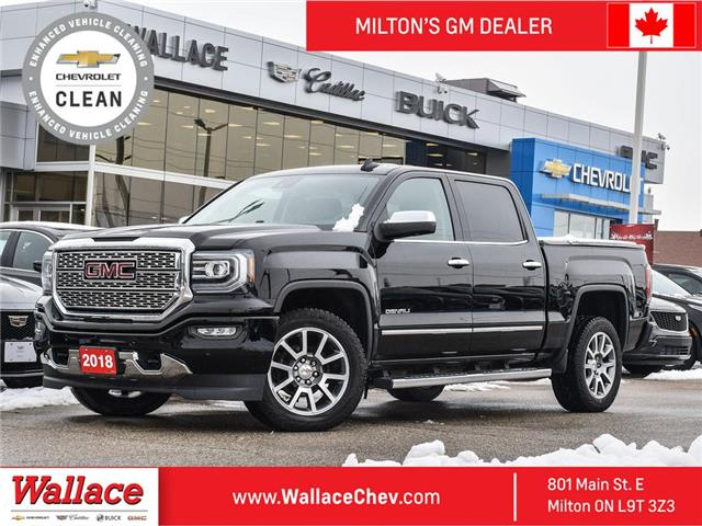 2018 GMC Sierra 1500 Denali NAV ROOF, One Owner, No Accidents, Cooledst (Stk: F263288A) in Milton - Image 1 of 22