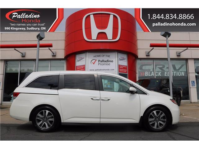 2017 Honda Odyssey EX-L (Stk: U19230) in Greater Sudbury - Image 1 of 31