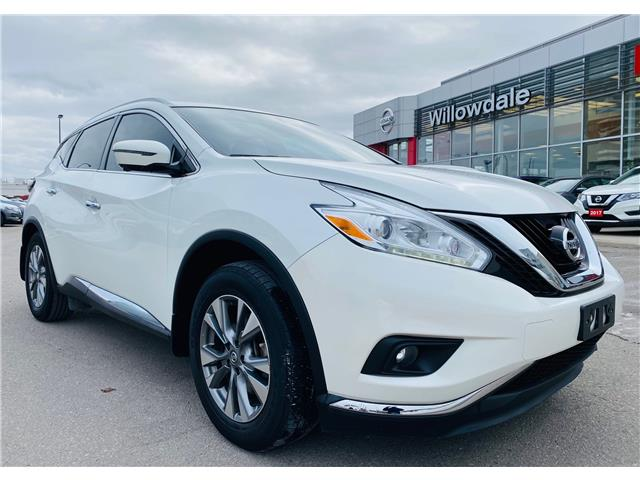 2016 Nissan Murano SL (Stk: N1510A) in Thornhill - Image 1 of 20