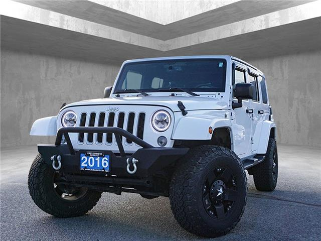 2016 Jeep Wrangler Unlimited Sahara (Stk: 9644A) in Penticton - Image 1 of 20