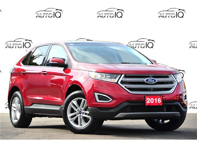 2016 Ford Edge SEL Red