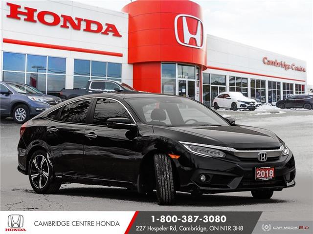 2018 Honda Civic Touring (Stk: 21516A) in Cambridge - Image 1 of 27