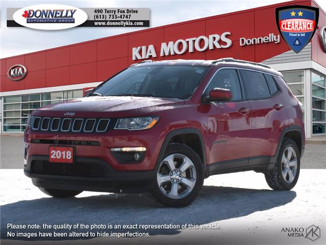 2018 Jeep Compass North (Stk: KU2482) in Kanata - Image 1 of 27