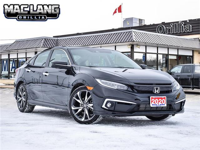 2020 Honda Civic Touring (Stk: 13606A) in Orillia - Image 1 of 30