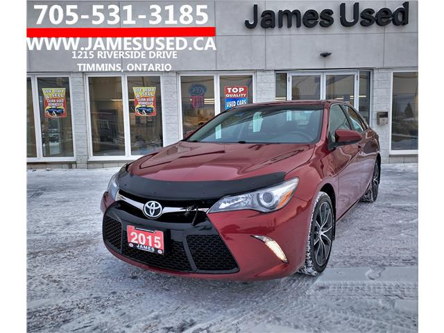 2015 Toyota Camry XSE (Stk: N20424A) in Timmins - Image 1 of 13