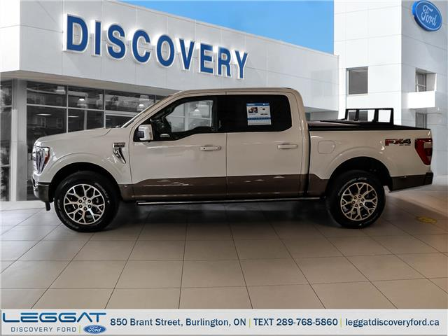 2021 Ford F-150 King Ranch (Stk: F121-01524) in Burlington - Image 1 of 12