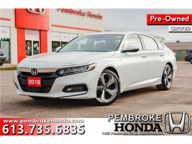 2018 Honda Accord Touring (Stk: P7484A) in Pembroke - Image 1 of 14