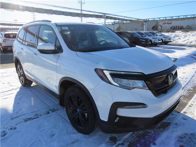 2021 Honda Pilot Black Edition (Stk: 210062) in Airdrie - Image 1 of 8
