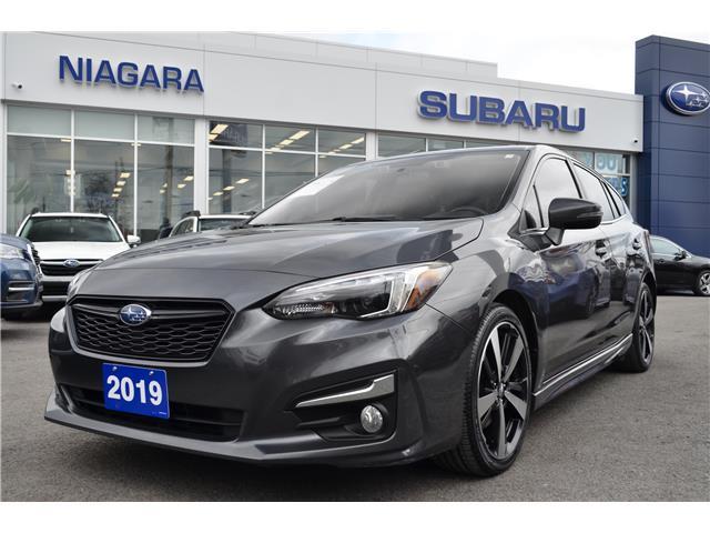 2019 Subaru Impreza Sport-tech (Stk: Z1823) in St.Catharines - Image 1 of 22