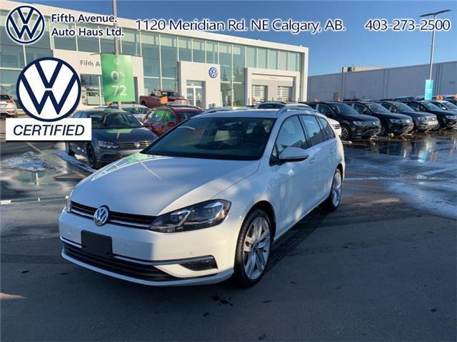 2019 Volkswagen Golf SportWagen 1.8 TSI Execline (Stk: 3603) in Calgary - Image 1 of 27