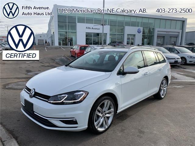 2019 Volkswagen Golf SportWagen 1.8 TSI Execline (Stk: 3625) in Calgary - Image 1 of 27