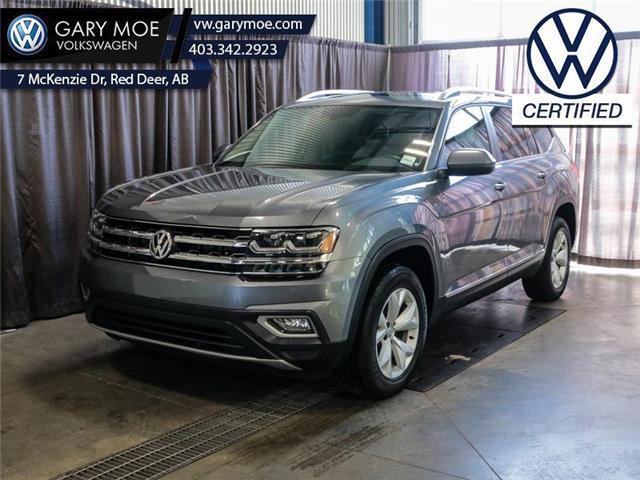 2018 Volkswagen Atlas 3.6 FSI Highline (Stk: VP7712) in Red Deer County - Image 1 of 28