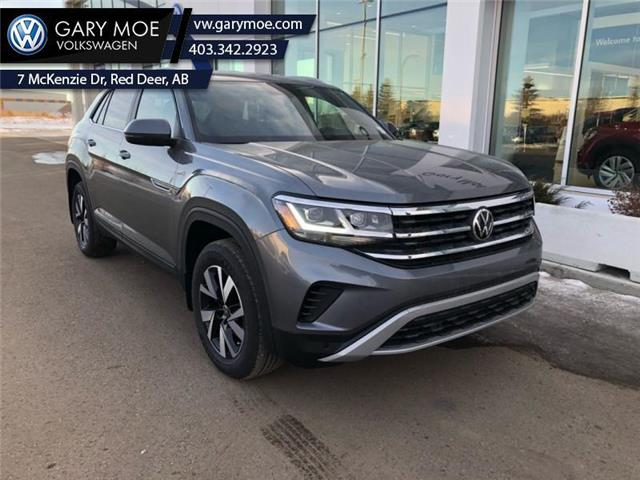 2021 Volkswagen Atlas Cross Sport Comfortline 2.0 TSI (Stk: 1CS0037) in Red Deer County - Image 1 of 9