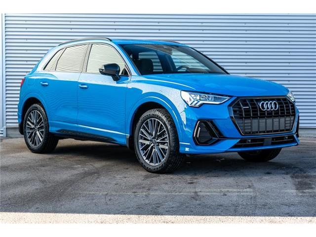2021 Audi Q3 45 Technik (Stk: N5824) in Calgary - Image 1 of 19