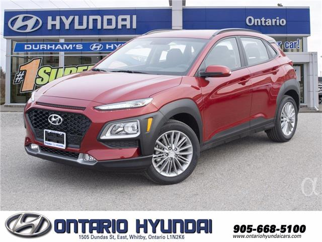 2021 Hyundai Kona 1.6T Ultimate w/Red Colour Pack (Stk: 705878) in Whitby - Image 1 of 21