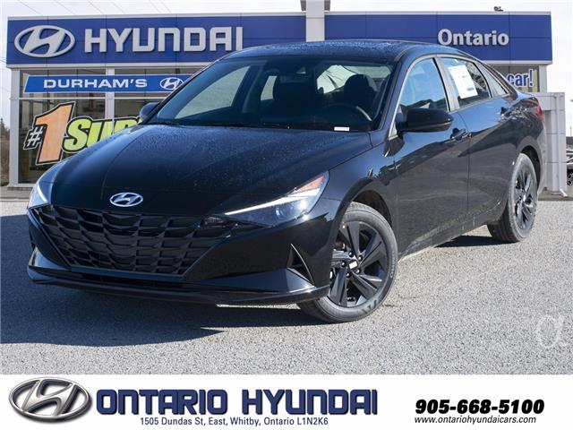 2021 Hyundai Elantra Preferred w/Sun & Tech Pkg (Stk: 116184) in Whitby - Image 1 of 20