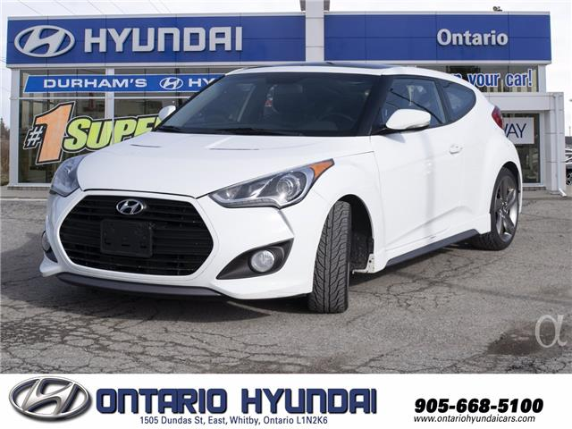 2014 Hyundai Veloster Turbo (Stk: 92180L) in Whitby - Image 1 of 20