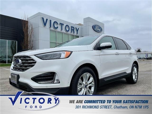 2020 Ford Edge Titanium (Stk: V10467CAP) in Chatham - Image 1 of 24