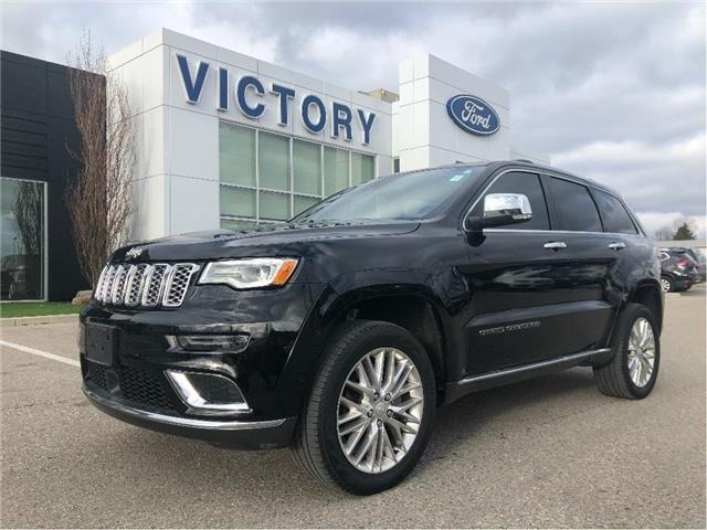 2018 Jeep Grand Cherokee Summit (Stk: V3490) in Chatham - Image 1 of 26