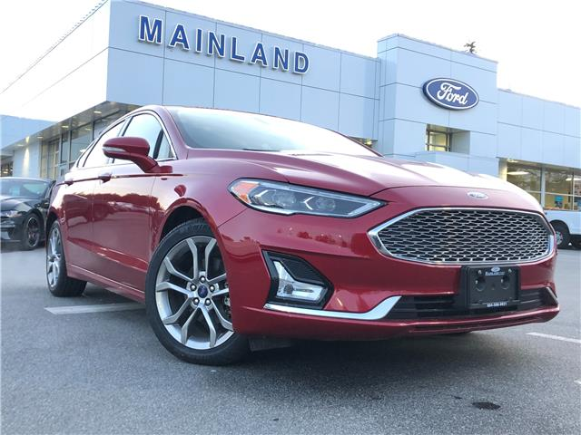 2020 Ford Fusion Hybrid Titanium (Stk: P7483) in Vancouver - Image 1 of 30