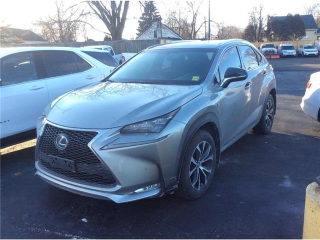 2017 Lexus NX 200t Base (Stk: A9425) in Sarnia - Image 1 of 1