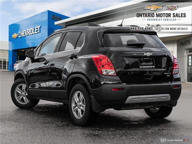 Used Chevrolet Trax For Sale In Oshawa Ontario Motor Sales