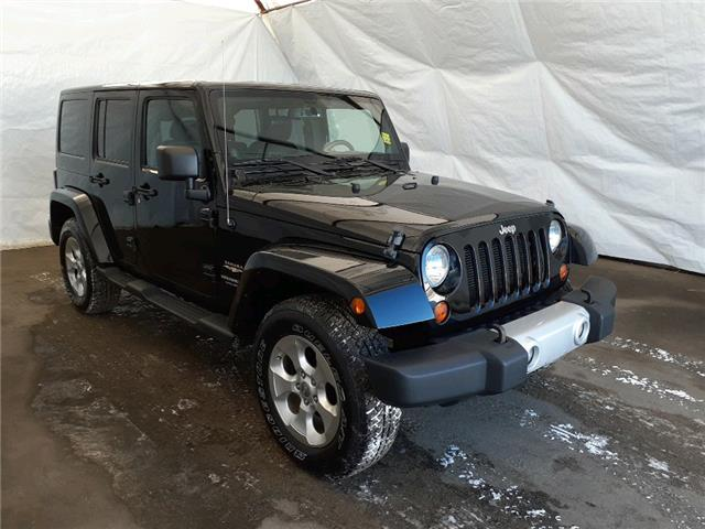 2013 Jeep Wrangler Unlimited Sahara (Stk: 2110421) in Thunder Bay - Image 1 of 15