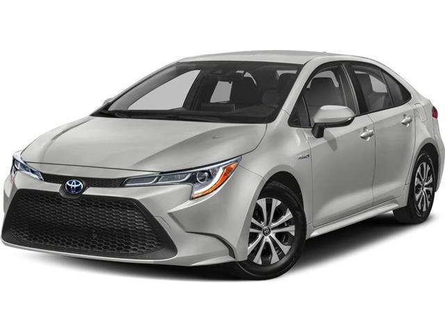 2021 Toyota Corolla Hybrid Base w/Li Battery (Stk: 61201) in Sarnia - Image 1 of 1