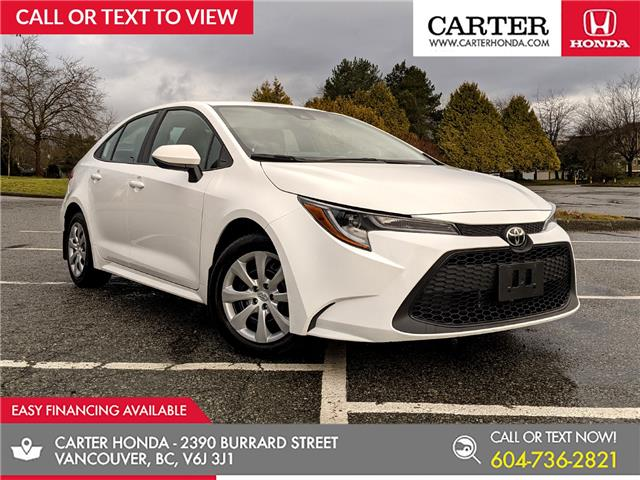 2020 Toyota Corolla LE (Stk: B63420) in Vancouver - Image 1 of 22