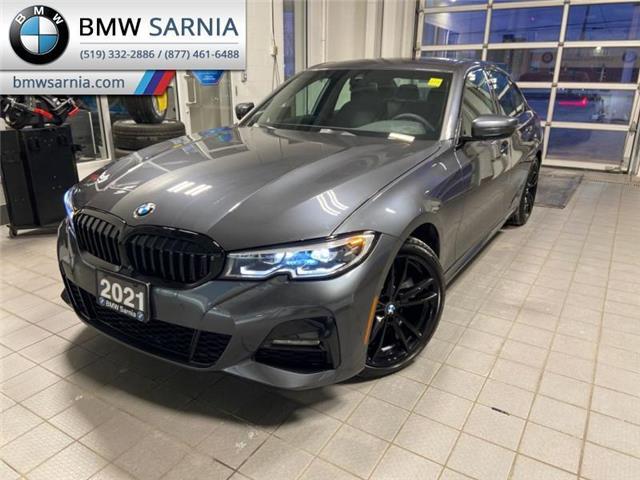 2021 BMW 330i xDrive (Stk: B2117) in Sarnia - Image 1 of 17