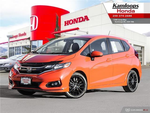 2018 Honda Fit Sport (Stk: 15190U) in Kamloops - Image 1 of 25